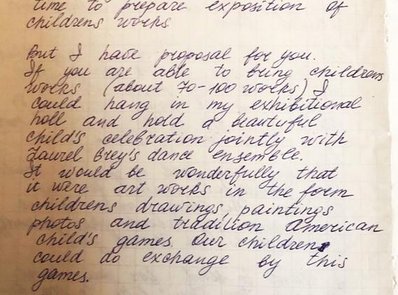 Elena's letter