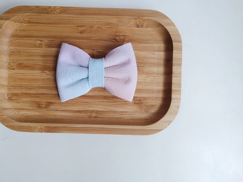Blue and Orange Watercolour Classic Bow Tie