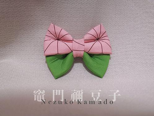 竈門禰󠄀豆子   Nezuko Kamado Bow Tie