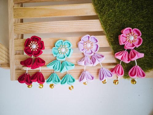 Iro Kanzashi Flower with Tassel