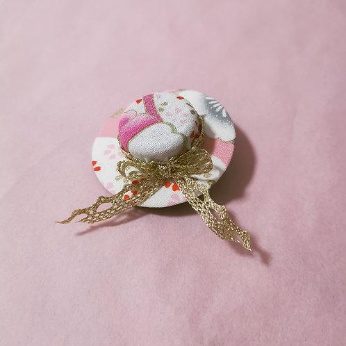 Pink Sakura Hat Clip