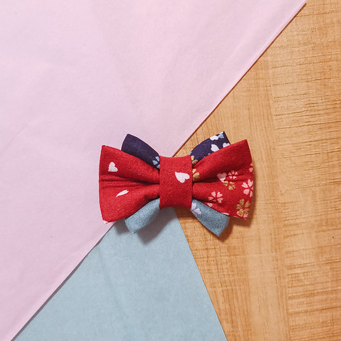 Sakura Gradient Obi Bow Tie
