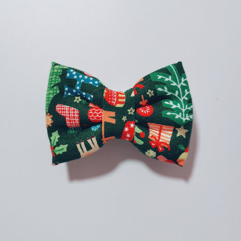 Red Christmas Bow Tie
