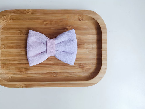 Pink and Purple Watercolour Classic Bow Tie