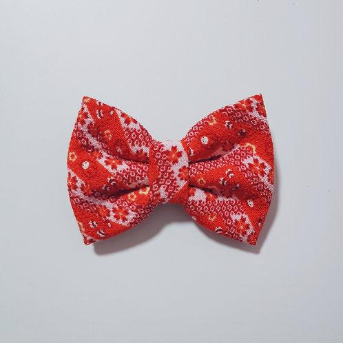Red Daruma Bow Tie