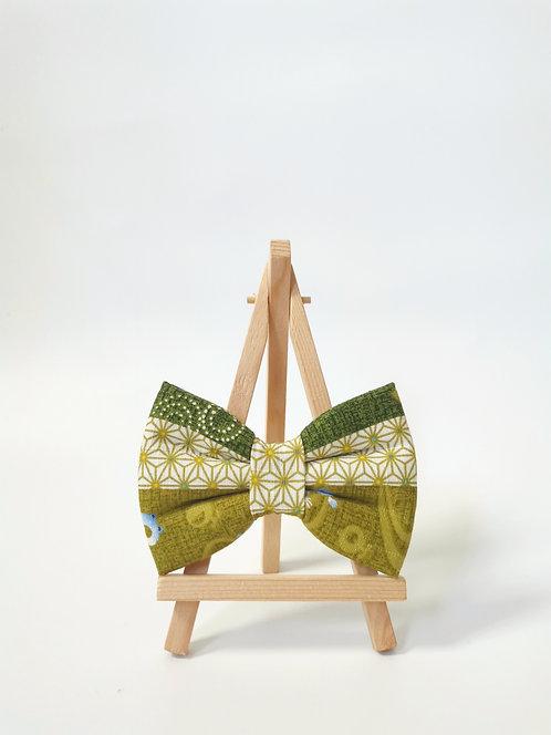 Kero Kero Green Horizontal Bow Tie
