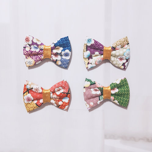 Floral Mosaic Bow Tie