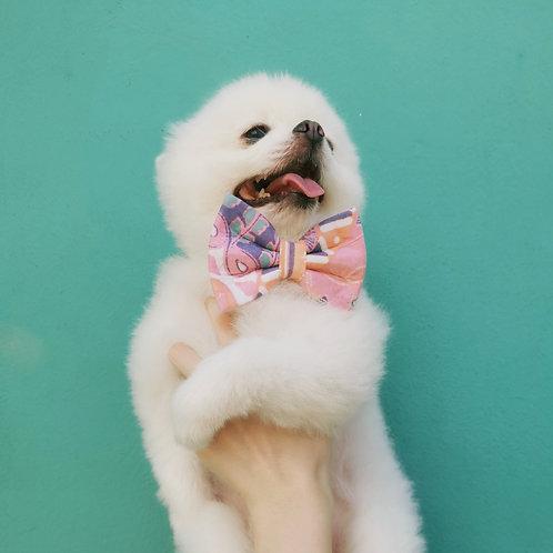 Pink Batik Bow Tie