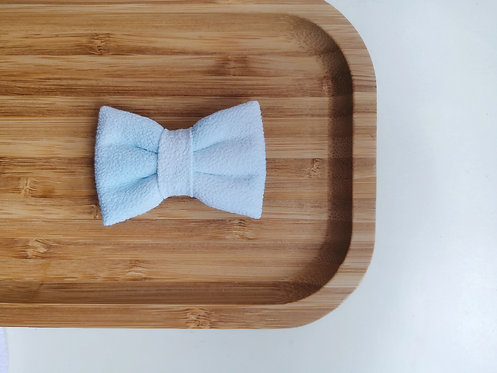 Blue Watercolour Classic Bow Tie