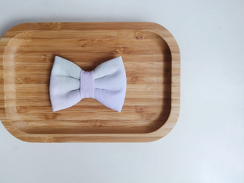 Green and Purple Watercolour Classic Bow Tie