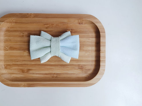 Green and Blue Watercolour Obi Bow Tie