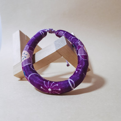 Purple Sakura Rope Collar