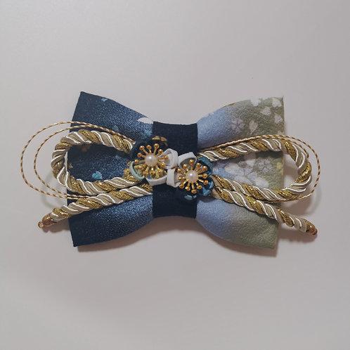 Blue Sakura Gradient Kirei Bow Tie