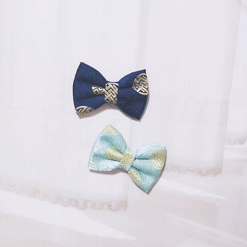 Traditional Synth Silk Bow Tie