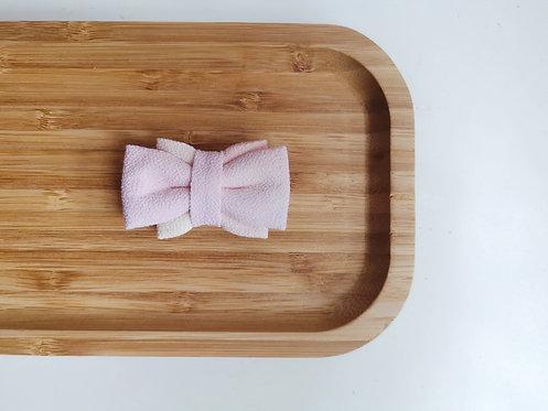 Pink Watercolour Obi Bow Tie