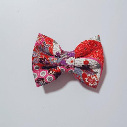 Red Hana Mizu Bow Tie