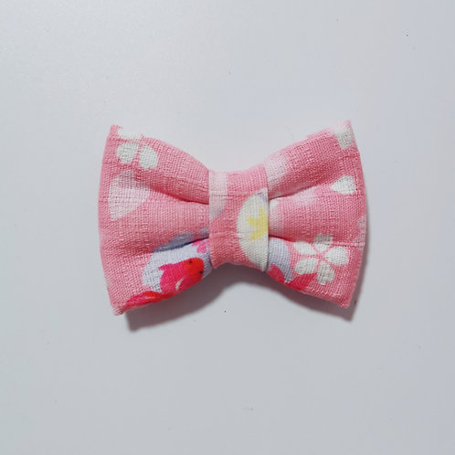 Pink Koi Chan Bow Tie