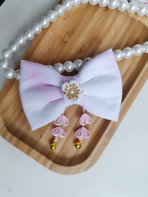 Pink Gradient Watercolour Kirei Bow Tie