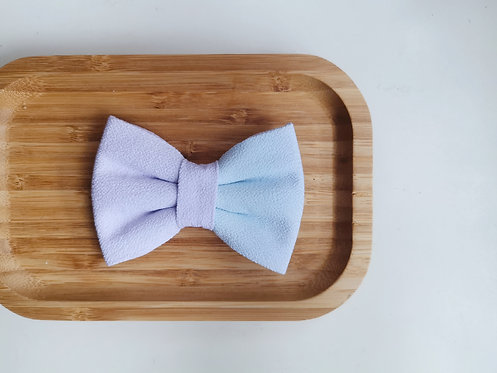 Purple and Blue Watercolour Classic Bow Tie