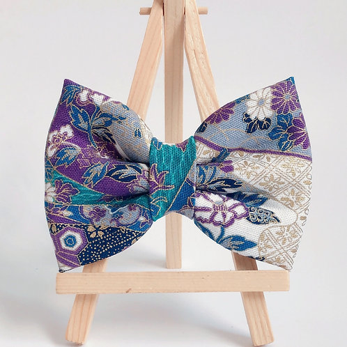Hana Mizu Purple Bow Tie
