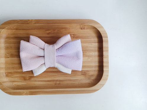 Pink, Orange and Purple Watercolour Obi Bow Tie