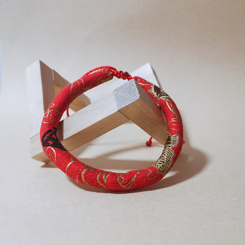 Red Koi Rope Collar