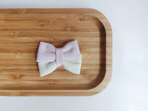 Pink and Yellow Watercolour Butterfly Bow Tie