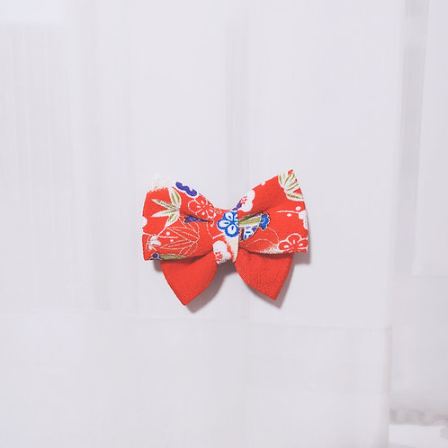 Traditional Motif Butterfly Bow Tie