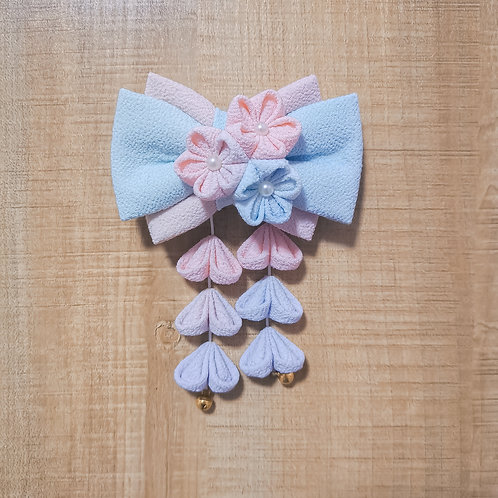 Watercolour Kirei Obi Bow Tie for Kristen