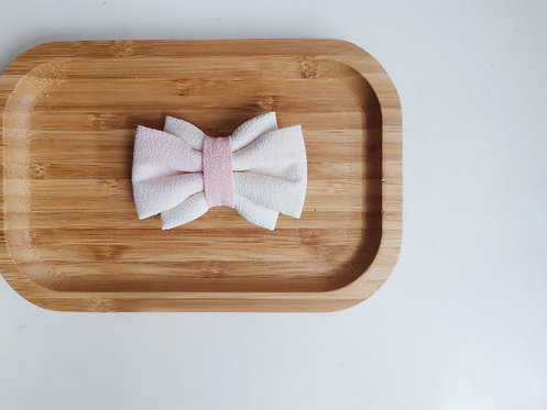 Pink and Yellow Watercolour Obi Bow Tie