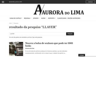 JORNAL A AURORA DO LIMA