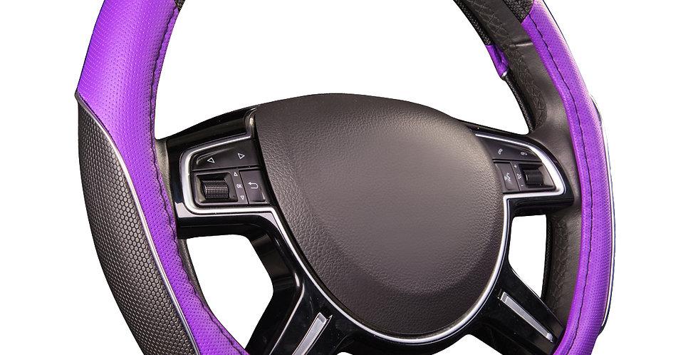 car pass rainbow universal steering wheel cover