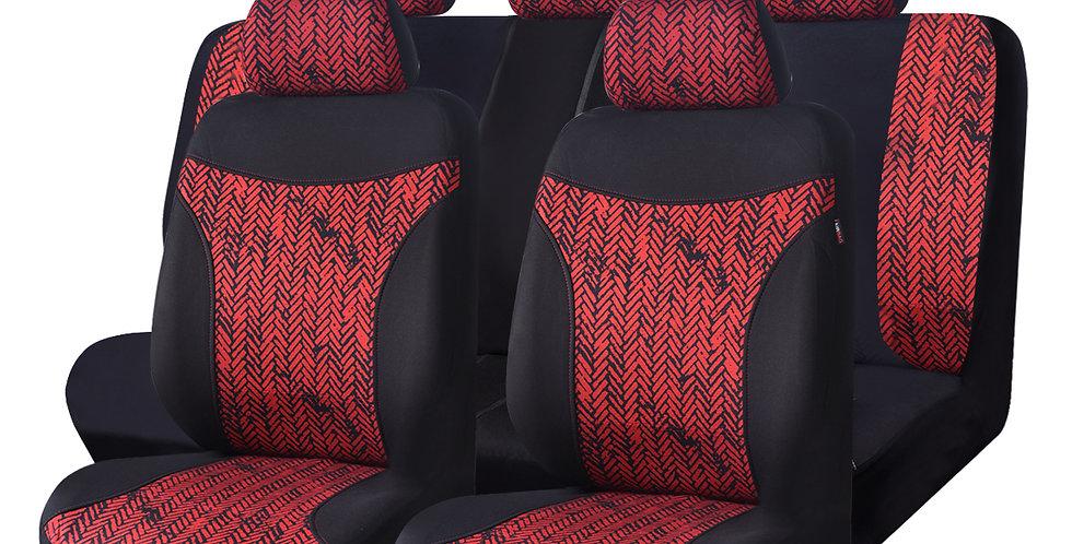 CAR PASS New Arrival Three Color Mesh Cotton Washable 11PCS Auto Car Seat Covers