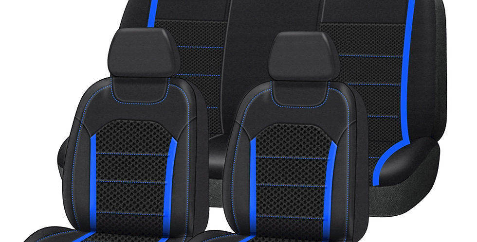 CARPASS Car Seat Cover New Arrival 9PCS  5 Seats Sandwich Universal Breathable