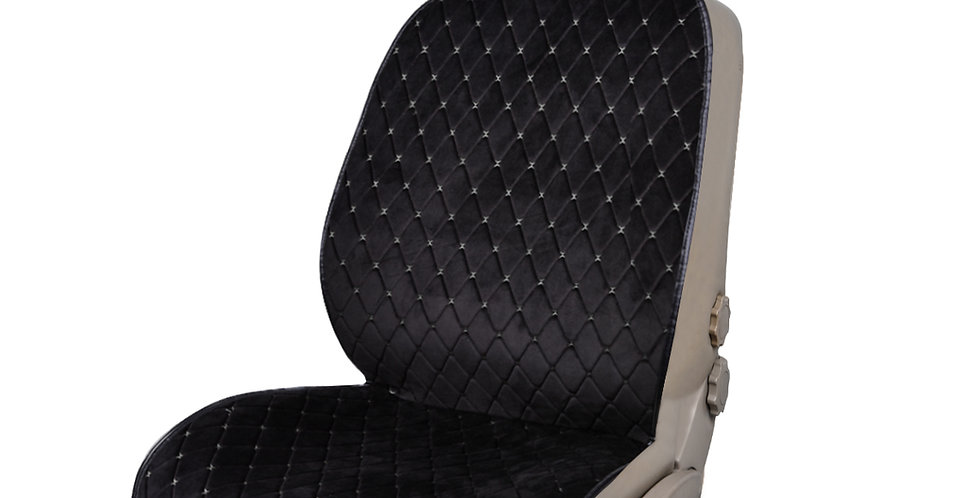 NEW ARRIVAL- CAR PASS Full Cover Quilting Sideless Universal fit Car Seat Cover