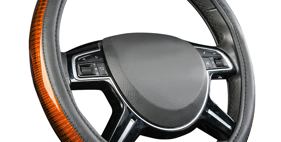 CARPASS Car Steering Wheel Cover 3 Color 38CM Smooth Universal For Car Truck Suv