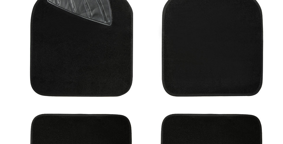 CAR PASS New Arrival Pu Leather Universal Car Floor Mats for Ford