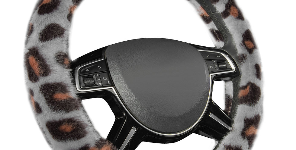 CAR PASS New Arrival Flannel 38cm Universal Car Steering Wheel Cover for Car SUV