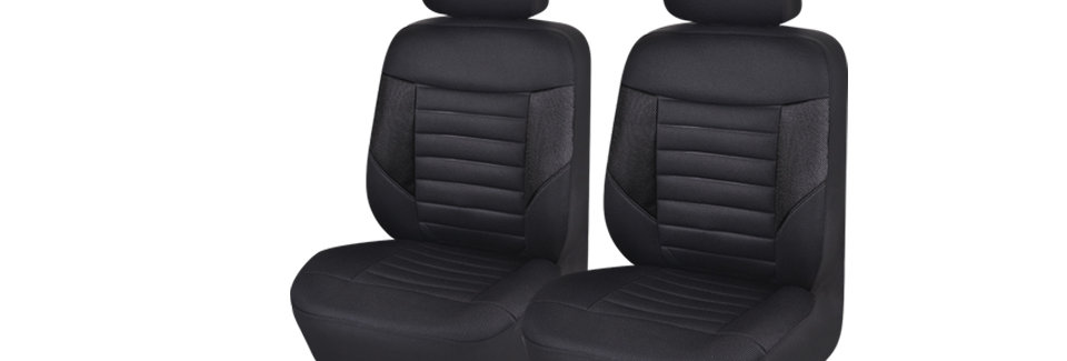 CAR PASS 6PCS Sandwich Washable SUPER Universal Automobile Front Seat Covers Set