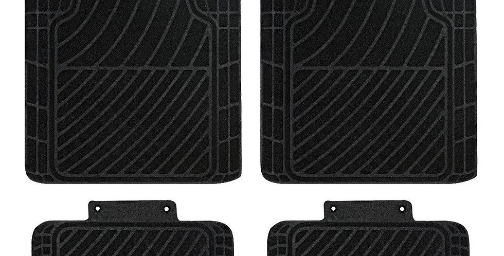 CAR PASS New Design 4PCS Tire Pattern Luxurious Car Floor Mats for Ford Nissan