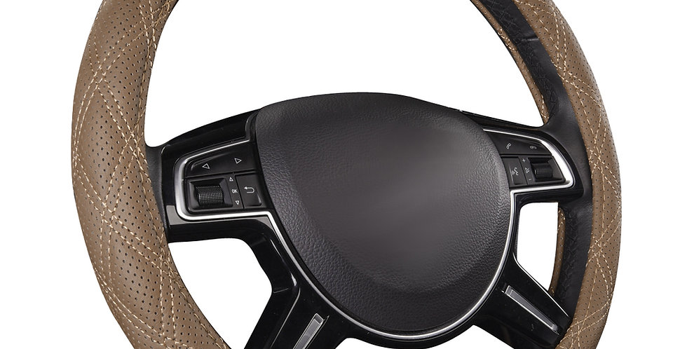 Universal Steering Wheel Cover PU Leather for Car Truck SUV