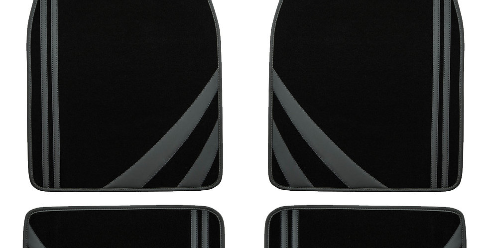 CAR PASS Liner Rider Universal Fit Car Floor Mats,Perfectly Fit sedans,Vans,suvs
