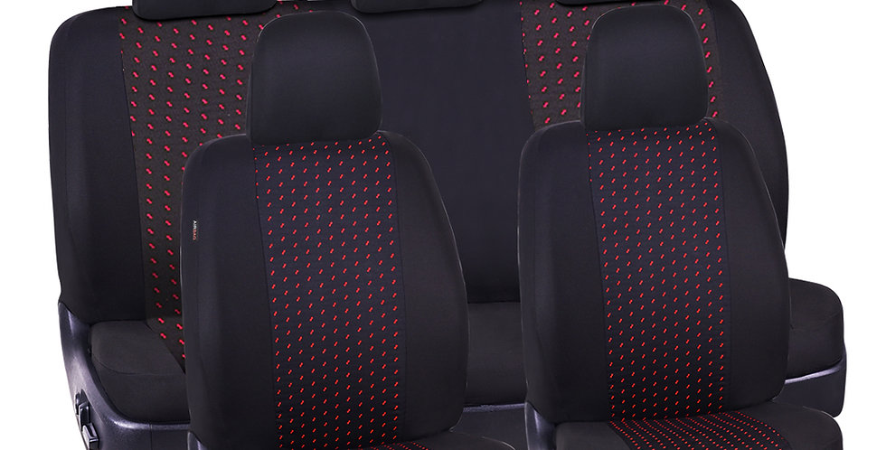 Supreme Automobile Seat Covers Set Package Universal Fit for Vehicles, Cars, SUV