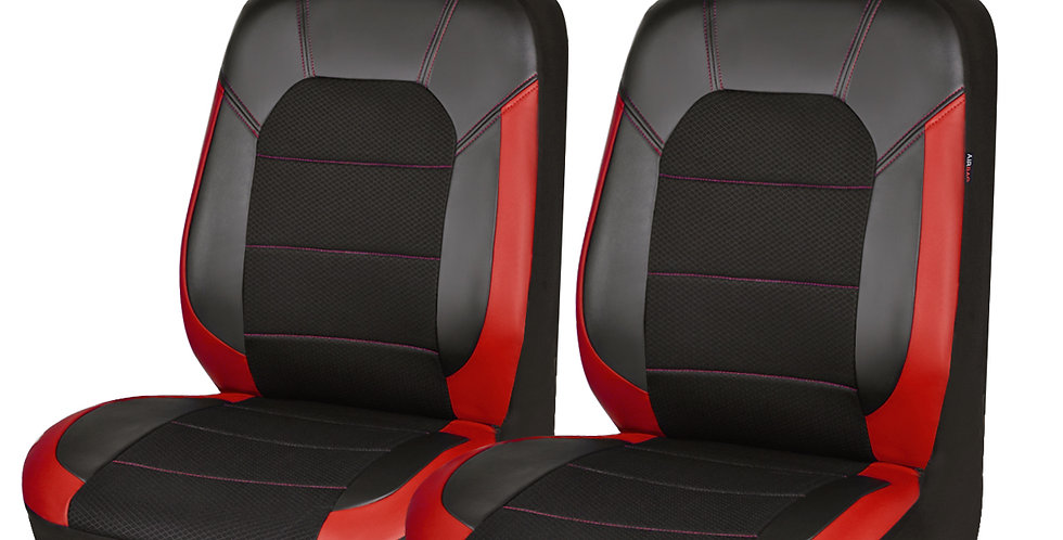 CARPASS New Arrival 2 Front Sandwich Leather UniversalCar Seat Cover with Airbag