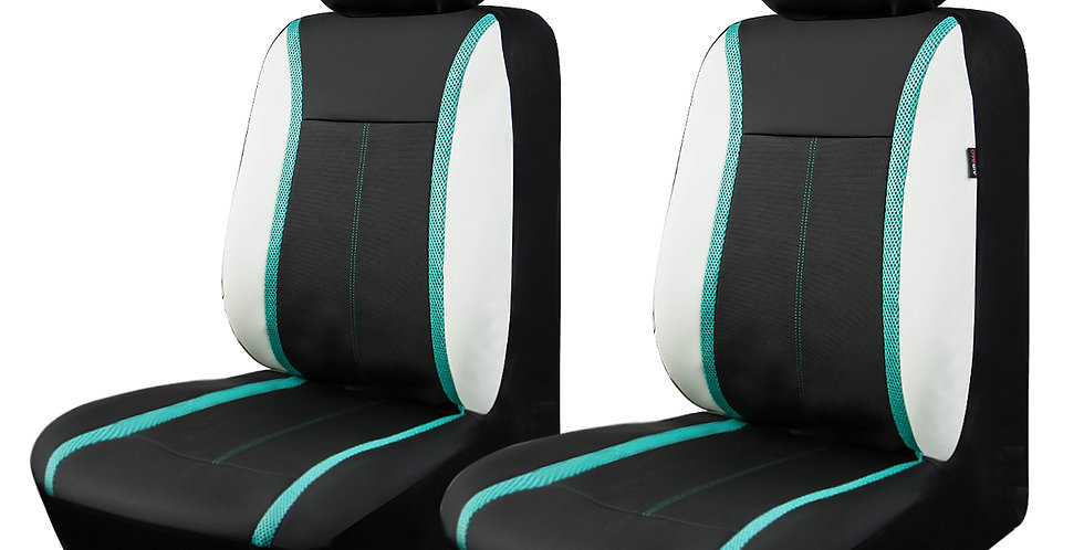 CAR PASS New Arrival Design Lighting Universal Car Seat Cover for 2 Front Seat