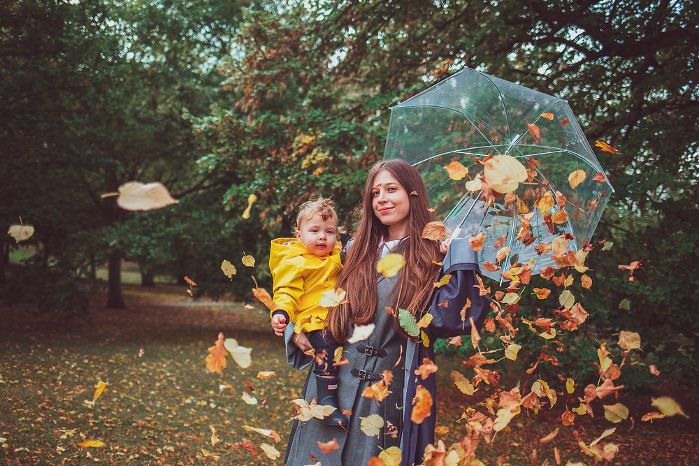 creative family photoshoot in Greenwich park