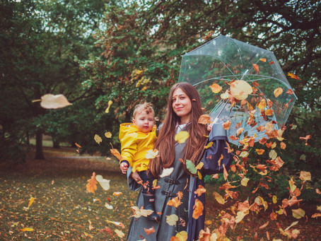 Autumnal photoshoots in London