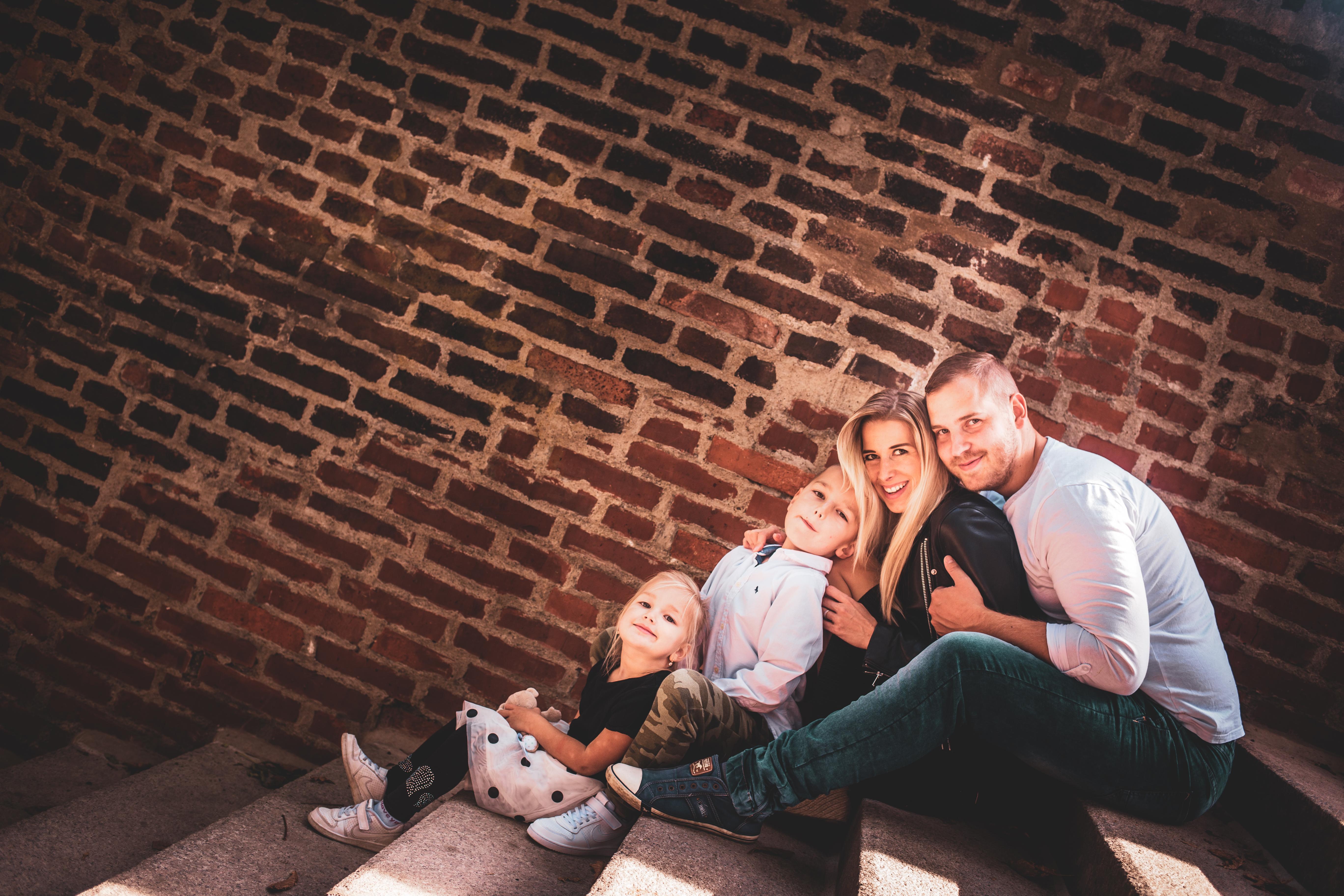 Family photo from Prague