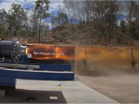 Gilmour Space's 30-second, 90 kN thrust hotfire