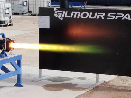Gilmour Space achieves 45-second hybrid rocket engine test fire